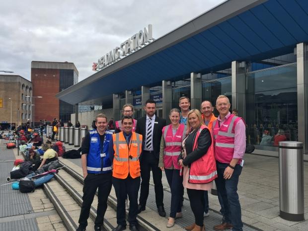 Reading Station Network Rail GWR BTP Interserve