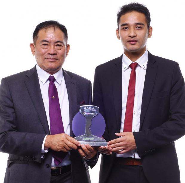Tek Malla and Purna Gurung