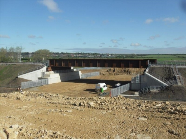 Lincoln Eastern Bypass Scheme Network Rail and BAM Nuttall
