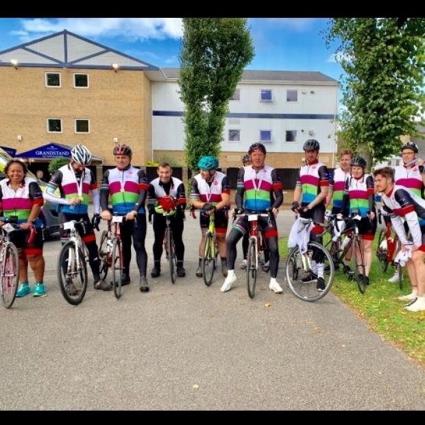 GTR 90 Mile Charity Ride for Princes Trust Team GTR