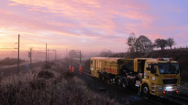 Strabag Rail in partnership with TES 2000