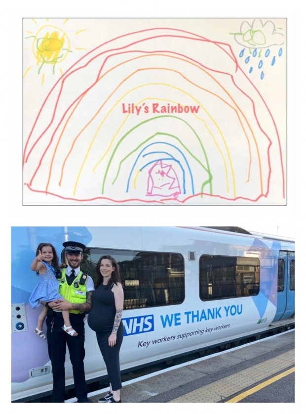 Rail Enforcement Team -Great Northern Lily's Rainbow