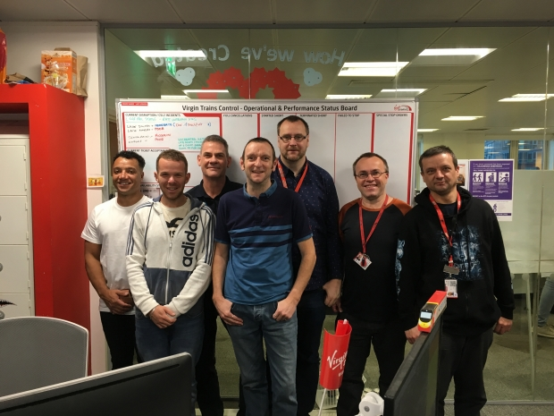 Virgin Trains Control Team